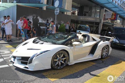 9 Lamborghini Veneno Roadsters by Lamborghini Veneno Roadster 31 August 2015 Autogespot