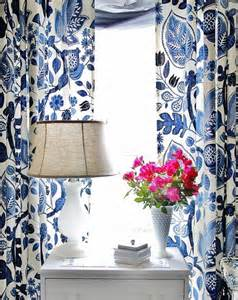 Blue Floral Curtains Blue And White Floral Curtains Best Curtains Design 2016