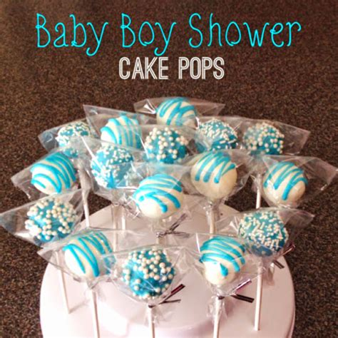Cake Pops Baby Boy Shower by The Sweet Pop Shop Where Your Sweet Tooth Is Satisfied