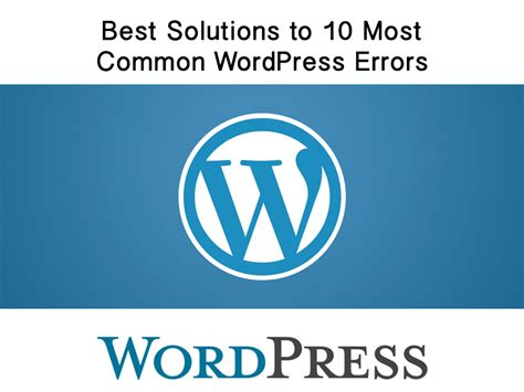 coding best solutions errors here are the best solutions to 10 most