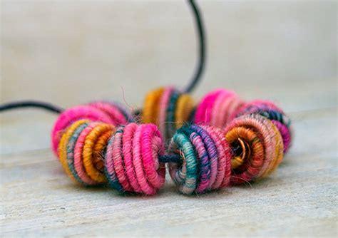 Handmade Fabric Jewelry - handmade fabric textile for artisan jewelry designs 3mm