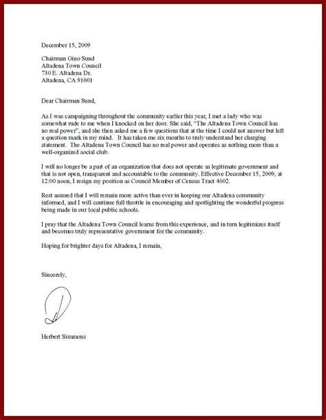 ending resignation letter flexible end date sufficient although