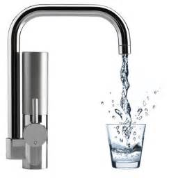 innovative water filtering kitchen faucet mywell freshome com