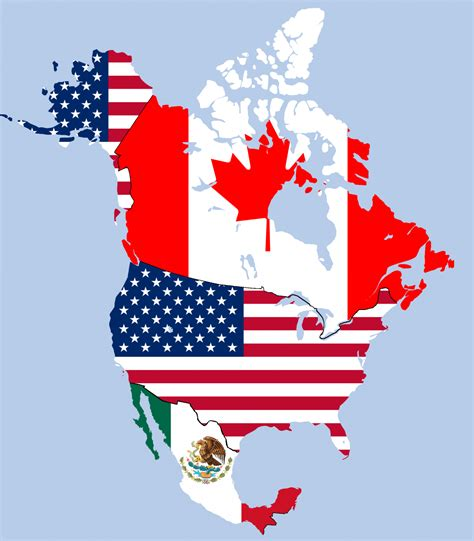 map of usa and canada and mexico america must compete globally