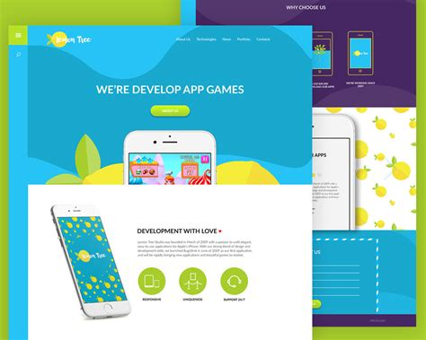 app template psd free colorful app website template free psd at