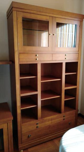 mueble de madera de haya de segunda mano en wallapop