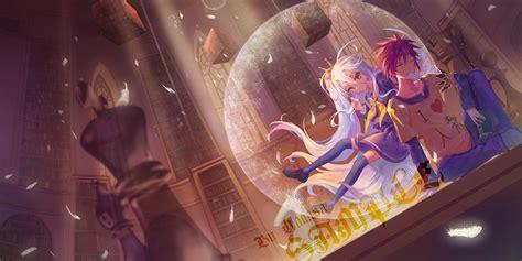 wallpaper engine no game no life sora and shiro full hd wallpaper and background image