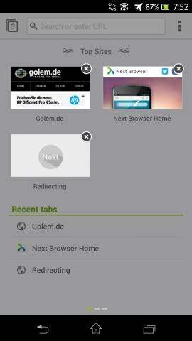 next browser for android next browser angeschaut android browser mit gestensteuerung golem de