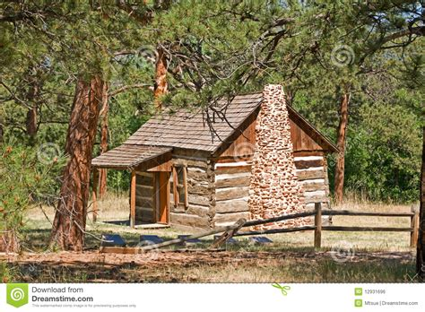 Pioneer Cabin by Pioneer Cabin Royalty Free Stock Image Image 12931696