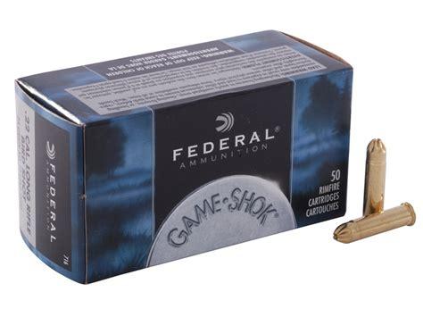 federal 22 long rifle ammo bird shot federal game shok ammo 22 long rifle 25 grain 12 shot