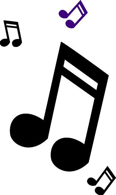 clipart musica m 250 sica notas r 225 pido 183 gr 225 ficos vectoriales gratis en pixabay