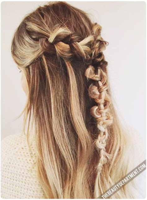 Macrame Hair Braid - the best hair tutorials on courtesy of