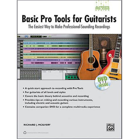 alfred basic pro tools for guitarists book dvd