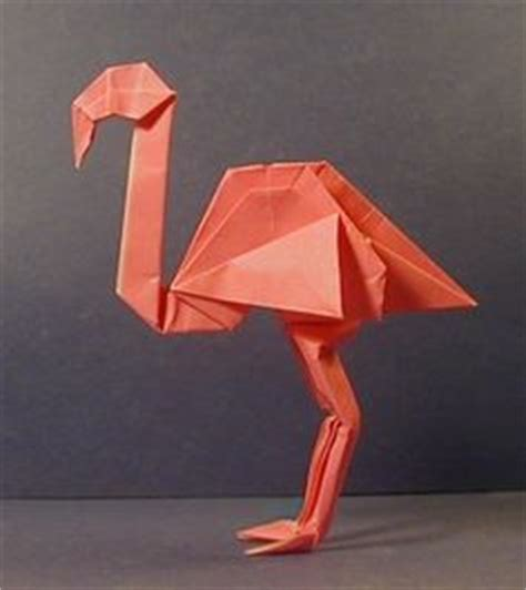 How To Make A Flamingo Out Of Paper - 1000 ideas about origami animals on origami