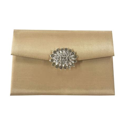 Wedding Envelopes by Ivory Wedding Envelope With Brooch Embellishment Luxury