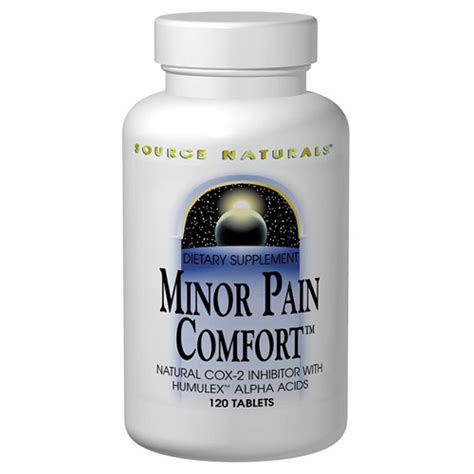comfort source minor pain comfort with humulex 60 tabs from source