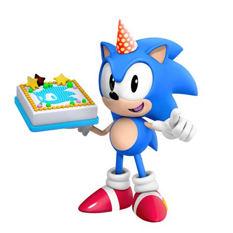 Where Can You Buy Sonic Gift Cards - classic sonic birthday render by nibroc rock on deviantart