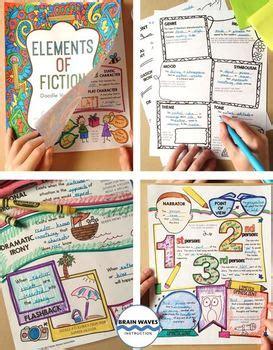 doodle list of elements doodle vocabulary elements of fiction 36 fiction
