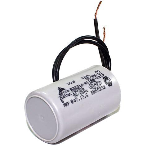 capacitor de motor tem polaridade capacitor partida de motor 16mf x 250v eletrope 231 as comercial eletr 244 nica ltda