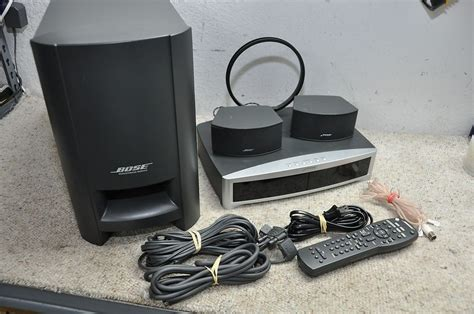 bose 3 2 1 321 gs series ii home theater entertainment