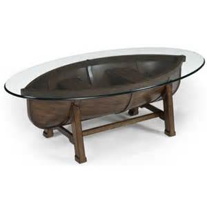 Boat Coffee Table Beaufort Oval Cocktail Table