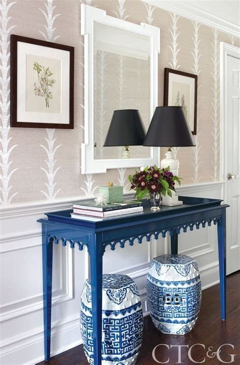 Blue Entryway Table 17 Best Ideas About Entryway Console Table On Console Table Decor Rustic Farmhouse