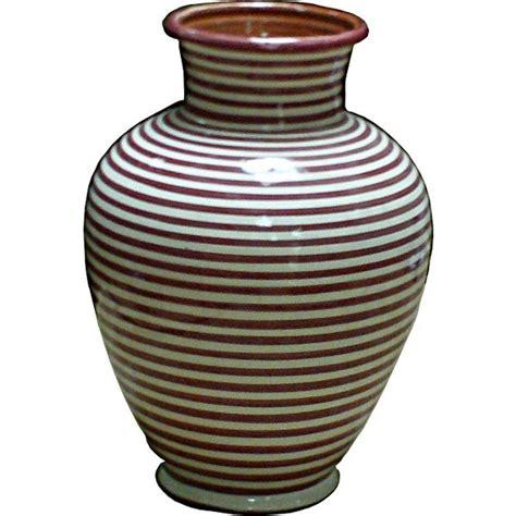 Vase Photos by Vase Marocain En C 233 Ramique 224 Rayures Rouges Et Blanches
