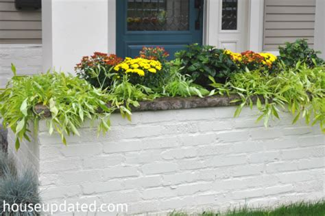 What To Plant In Planter Boxes by How To Plant A Planter Box Fall Style House Updated