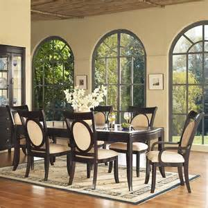 glass 7 piece dining table set collections