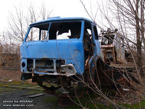 maz car chornobyl technique