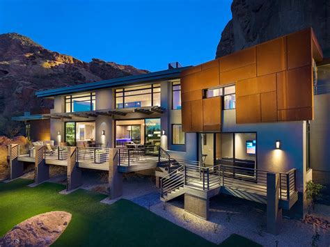 arizona contemporary by luster custom homes 2015