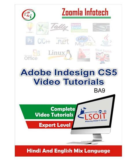 indesign tutorials hindi adobe indesign cs5 video tutorials by zoomla infotech