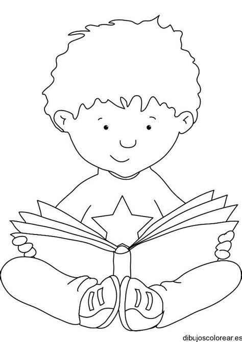 imagenes de optimismo para colorear dibujo de un ni 241 o leyendo un libro