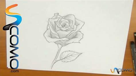 imagenes de flores sombreadas dibujar una rosa youtube