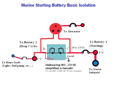 boat battery combiner battery combiner wiring diagram 31 wiring diagram images