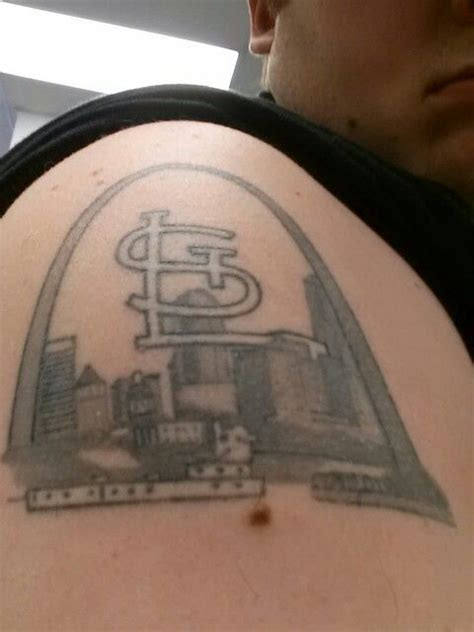 st louis tattoo better image of st louis skyline tattoos i think