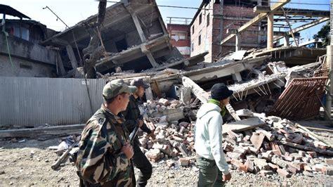earthquake disaster management a magnitude 6 7 earthquake strikes northeast india cnn com