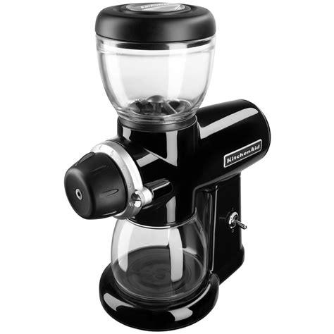 kitchenaid pro line series burr coffee mill onyx black kitchenaid burr grinder roselawnlutheran