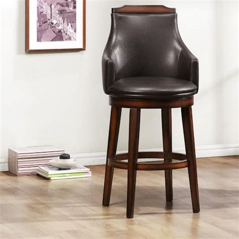 upholstered bar height chairs homelegance bayshore transitional upholstered bar height