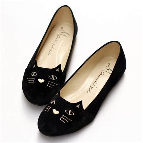 flat shoes with cat the world s catalog of ideas