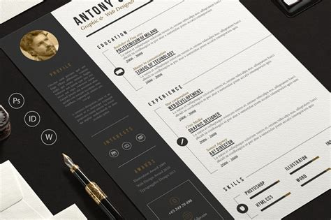 Pro Resume Template by Pro Resume Resume Templates On Creative Market