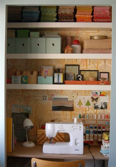 Closet Sewing Room 6 uses for the closet