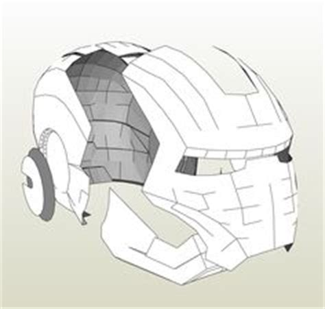 Foamcraft Template For Black Panther Civil War Helmet Pepakura Pdo Files Pinterest Iron Helmet Template Pdf