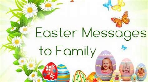 easter messages to family