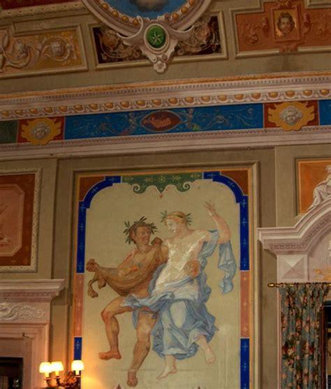 charles dickens biography victorian web the frescoed interior of the sala villa di bella vista
