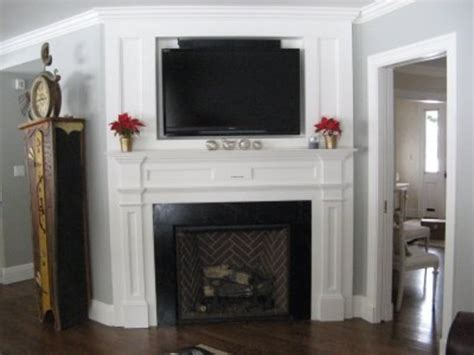 Fireplace Mantel Ideas With Tv by Fancy A Faux Fireplace Interior Design Decoration Design