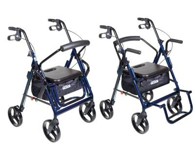 Drive Duet Rollator Transport Chair - which is the best rollator transport chair