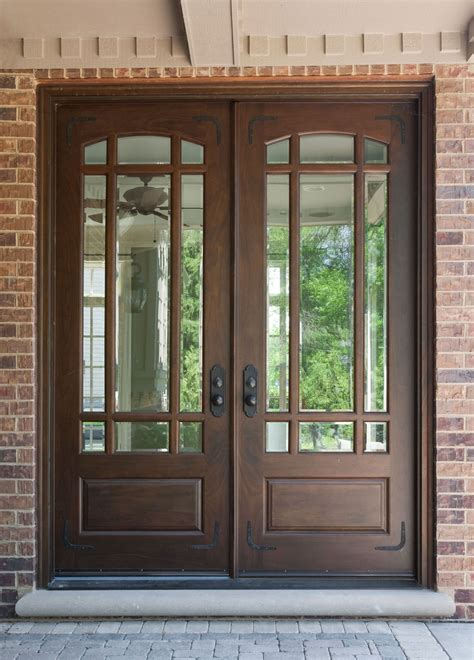 Home Design 93 Terrific Double Front Doors With Glasss Northeast Glass Window Door Company