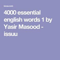 4000 Essential English Words Book 5 Audio Bookz