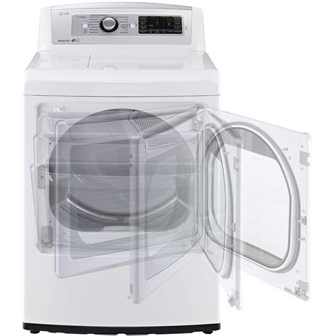 White Dryer Door by Lg Dlex5780we 7 3 Cu Ft Steam Electric Dryer W Easyload
